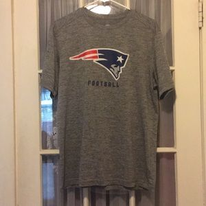 Men's New England Patriots Argletic T Shirt